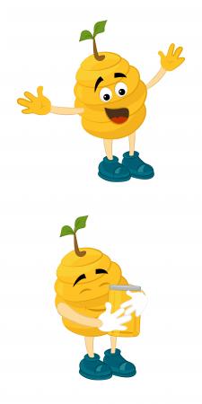 Медовий персонаж для конкурсу