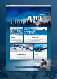 Landing Page : Winter