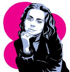 Портрет POP-ART