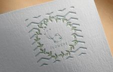 """Логотип для флориста """"RYBKA FLOWERS"""