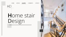 """Макет сайта """"Home stair Design"""""""