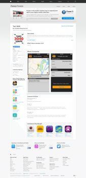 Описание приложения для такси 30-40