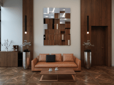 3д Визуализация интерьера кабинета