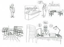 Ескіз для doodle відео