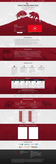 Сайт на тему торговли на фондовых и крипт. биржах