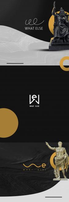Варианты логотипа компании What Else