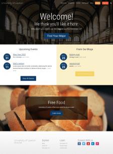 Lawton University webpage