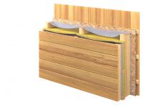 Визуализация конструкции стены в разрезе