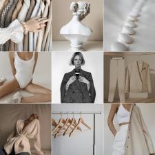 Концепция для бренда женской одежды