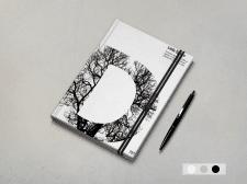 Обложка ежедневника для студии Полиграфии