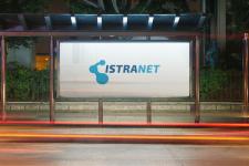Логотип для компании ИСТРАНЕТ