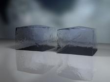 Кусочки льоду (3d MAX).