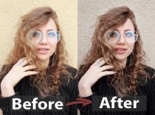 Обработка фотографии (цветокоррекция, рутешь)
