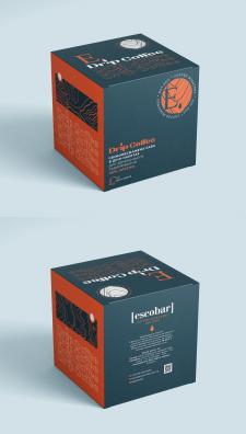 Дизайн упаковки Drip Coffee для Escobar
