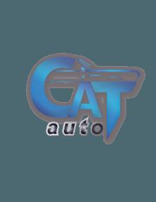 Логотип автомагазина кошка