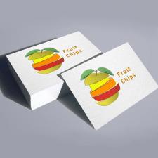 Дизайн логотипа для Fruit chips