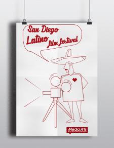 Постер на кинофест