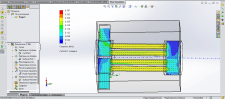 Water flow in pipes (Solidworks, Flow Simulation)