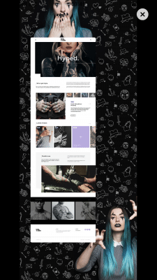 Tattoo Studio ⎮Homepage ⎮BM Design