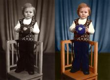 Колоризация старой фото