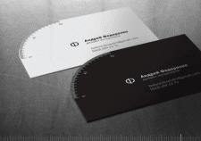 Креативные визитки для дизайнера интерьеров