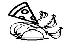 Дизайн на коробку для пиццы