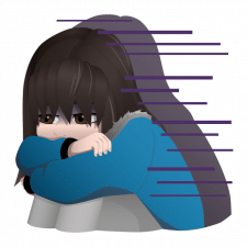 "Sticker ""Depression"""
