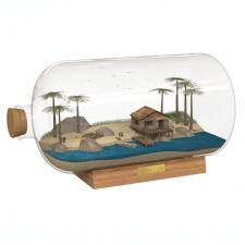 Остров в бутылке. Визуализация в KeyShot