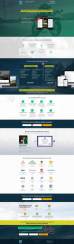 Дизайн Landing Page. Лид-агентство