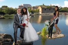 речка Рось и свадьба