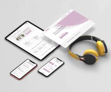 Дизайн сайта-визитки фитнеса