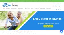 Shopify магазин электровелосипедов