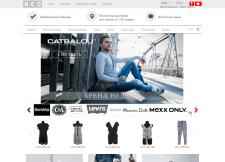RED . Интернет - магазин модной одежды .