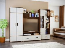 Визуализация стенки для рекламы мебели
