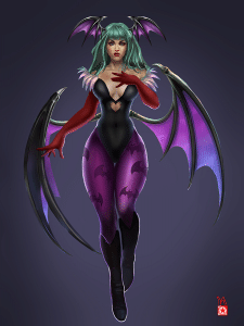 morrigan fan art