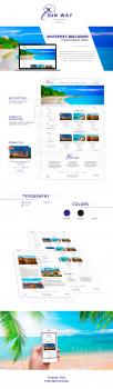 Дизайн интернет магазина туристических туров