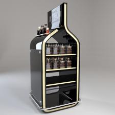Рекламная стойка - дисплей с продукцией