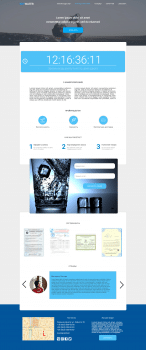 "Landing Page ""Skywater"""