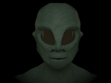 моделинг лица существа