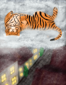 Спящий город
