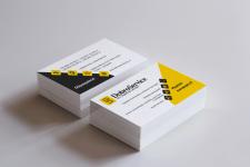 Дизайн визиток для компании по ремонту техники