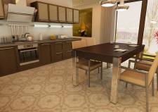 Визуализация и дизайн кухни