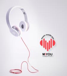 Создание логотипа для наушников MUSIC INSIDE YOU