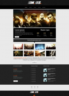 Music group template