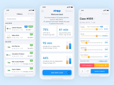 Redesign Strapp - app for saving patient's brain