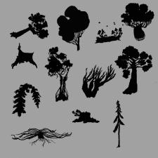 Концепт создания деревьев