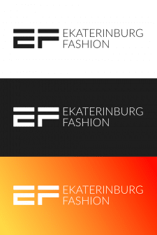 Логотип для модельного агентства E-FASHION