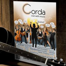 Плакат для магазину музичних інструментів