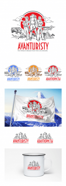 Эмблема и логотип Авантюристы