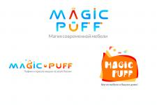 Логотип для мебельной компании Magic-puff, 2